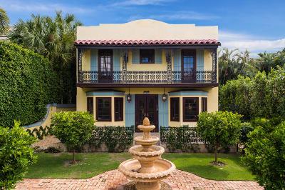 Palm Beach Single Family Home For Sale: 328 Australian Avenue