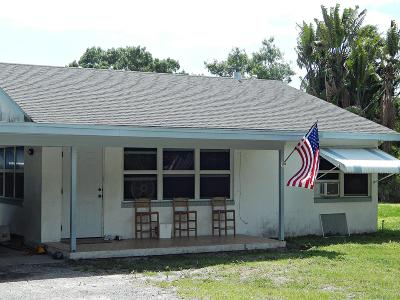 Fort Pierce Single Family Home For Sale: 2418 S 41st Street