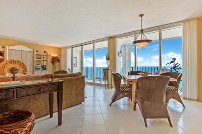 Palm Beach County Condo For Sale: 2800 S Ocean Boulevard #17-E