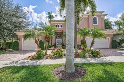 Palm Beach Gardens Single Family Home For Sale: 126 Vizcaya Estates Drive