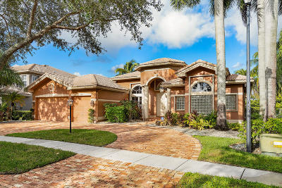 Boca Raton Single Family Home For Sale: 11821 Bayfield Drive