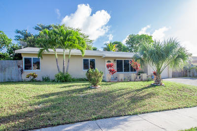 Delray Beach Single Family Home For Sale: 2126 SW 13th Street