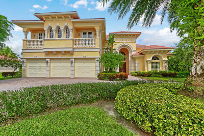 Palm Beach Gardens Single Family Home For Sale: 8305 Woodsmuir Drive