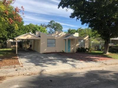 Lake Worth Single Family Home Contingent: 618 S Pine Street