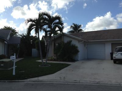Boca Raton Single Family Home For Sale: 9727 Sunny Isle Circle