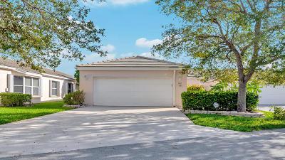 Greenacres Single Family Home Contingent: 1069 Island Manor Drive