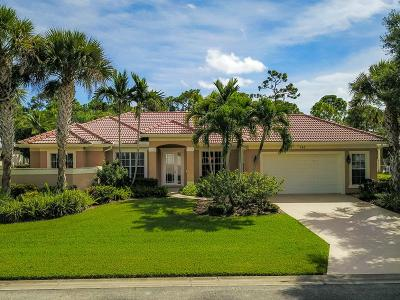 Palm City Single Family Home For Sale: 743 SW Long Lake Court