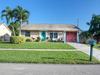 Lake Worth Single Family Home For Sale: 4725 Poseidon Place