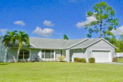 Loxahatchee Single Family Home For Sale: 18557 92nd Lane