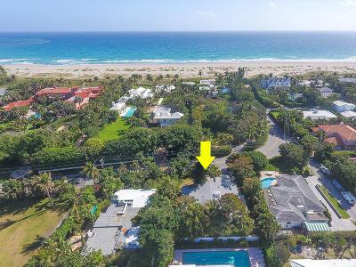 Palm Beach Single Family Home For Sale: 1464 Ocean Boulevard