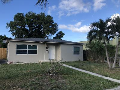 West Palm Beach Single Family Home For Sale: 717 41st Street