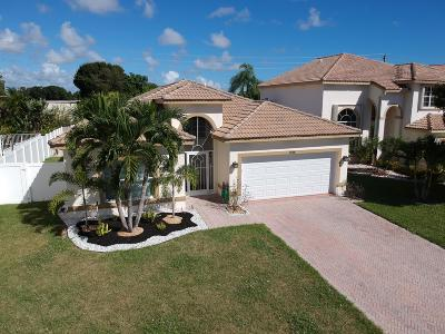 Boynton Beach Single Family Home For Sale: 7556 Colony Palm Drive