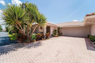 Boca Raton Single Family Home For Sale: 7921 Palacio Del Mar Drive