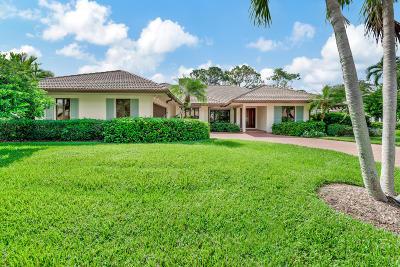 Palm Beach Gardens Single Family Home For Sale: 4 Berwick Road