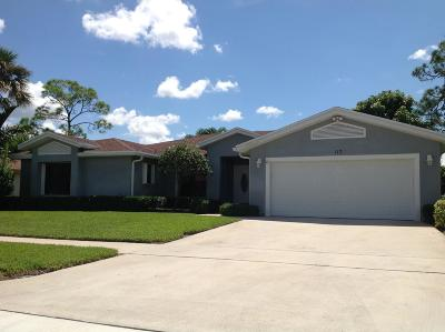 Royal Palm Beach Single Family Home For Sale: 117 Saratoga Boulevard W