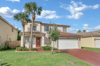 Wellington Single Family Home For Sale: 10751 Oak Bend Way