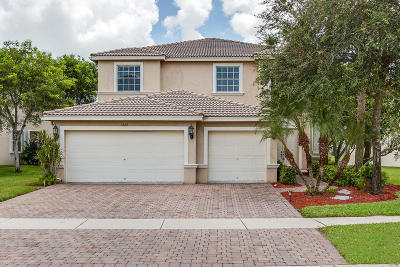 Lake Worth Single Family Home For Sale: 7282 Via Luria