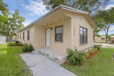Fort Lauderdale FL Single Family Home For Sale: $229,000