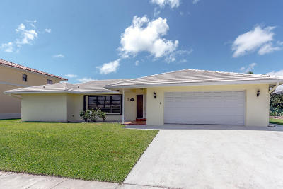 Singer Island Single Family Home For Sale: 1091 Singer Drive