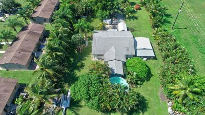 Lake Worth Single Family Home For Sale: 4662 Coconut Road