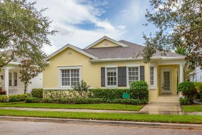 Jupiter Single Family Home For Sale: 223 Poinciana Drive