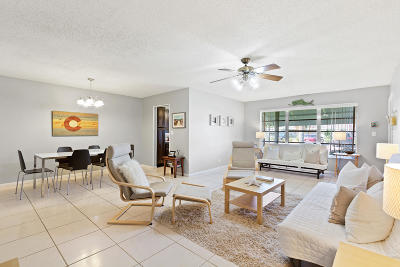Delray Beach Condo For Sale: 580 High Point Drive #B