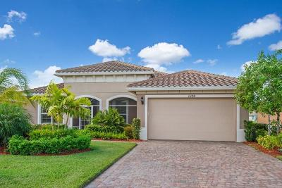 Port Saint Lucie Single Family Home For Sale: 11132 SW Vitalia Court