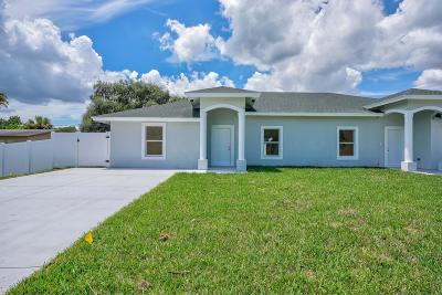 Palm Beach Gardens Single Family Home For Sale: 8679 40th Terrace