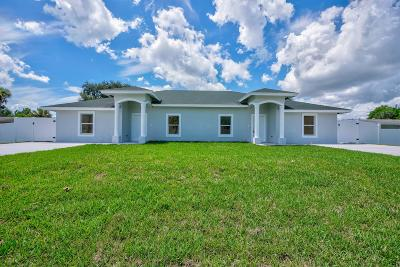 Palm Beach Gardens Multi Family Home For Sale: 8681 40th Terrace