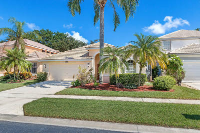 Delray Beach Single Family Home For Sale: 13644 Weyburne Drive