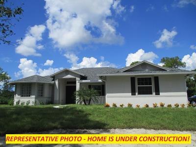 Jupiter Single Family Home For Sale: 13477 157th Court