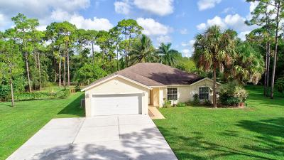 West Palm Beach Single Family Home For Sale: 13677 Temple Blvd