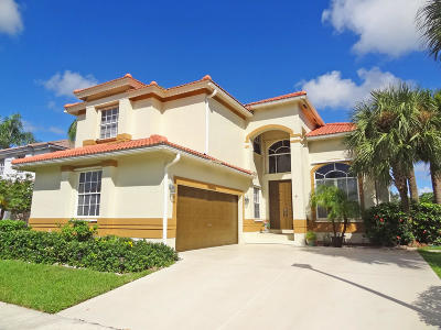 Boca Raton Single Family Home For Sale: 11041 Harbour Springs Circle