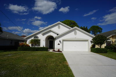 Jupiter Single Family Home Contingent: 6255 Lucerne Street