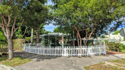 West Palm Beach Single Family Home For Sale: 833 34th Street