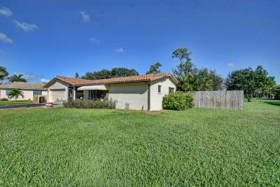 Lake Worth Single Family Home For Sale: 7199 Saint Andrews Road