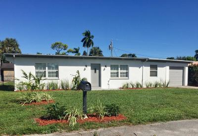 Delray Beach Single Family Home For Sale: 5105 Cleveland Road