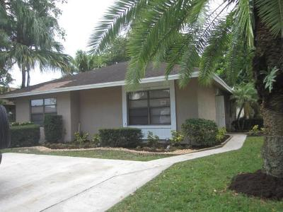 West Palm Beach Single Family Home For Sale: 5428 Gene Circle