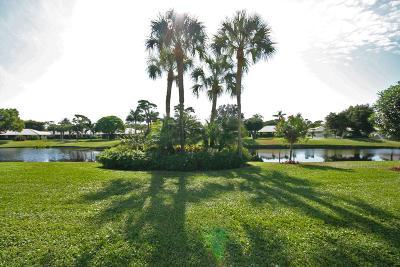 Boynton Beach, West Palm Beach Condo For Sale: 3672 Quail Ridge Drive #Gr Heron