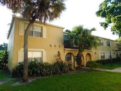 Coral Springs Townhouse For Sale: 10717 La Placida Drive #1-1