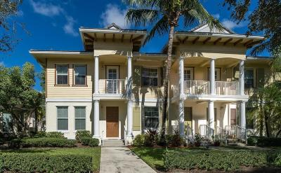 Jupiter Townhouse For Sale: 4325 Parkside Drive