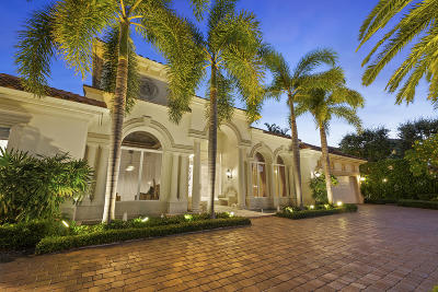 Boca Raton Single Family Home For Sale: 224 W Key Palm Road