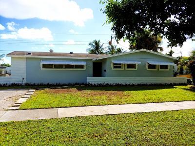 West Palm Beach Single Family Home For Sale: 5732 Parke Avenue