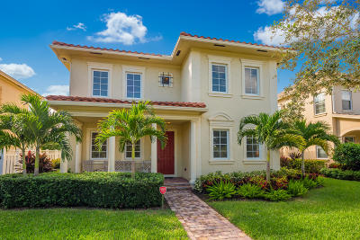 Jupiter Single Family Home For Sale: 134 Bandon Lane