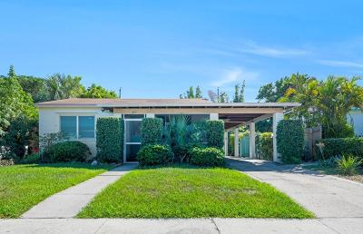 West Palm Beach Single Family Home For Sale: 624 46th Street