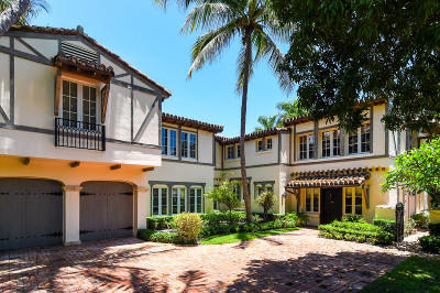 Palm Beach FL Single Family Home For Sale: $9,250,000
