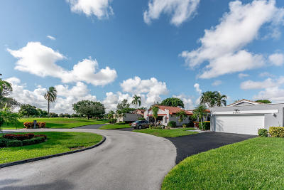 Boynton Beach Single Family Home For Sale: 5560 Piping Rock Drive