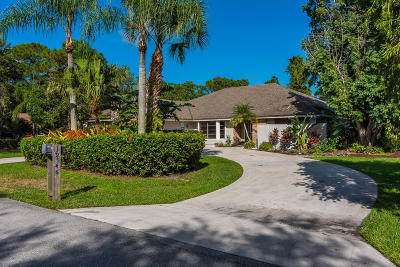 Jupiter Single Family Home For Sale: 19546 Trails End Terrace