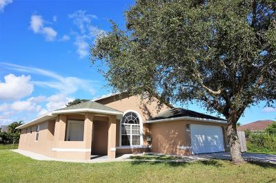Port Saint Lucie, Saint Lucie West Single Family Home For Sale: 1017 SE Bywood Avenue