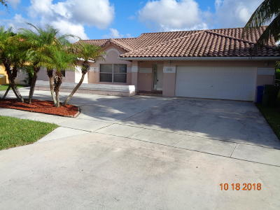 Pembroke Pines Single Family Home For Sale: 16329 NW 16th Street